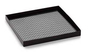 Full size mesh cooking tray (Black)