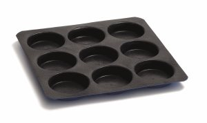 9 x non-stick mould