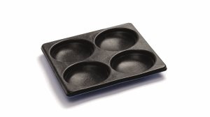 4x non-stick mould